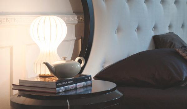 Selva bedside table elegant bedroom