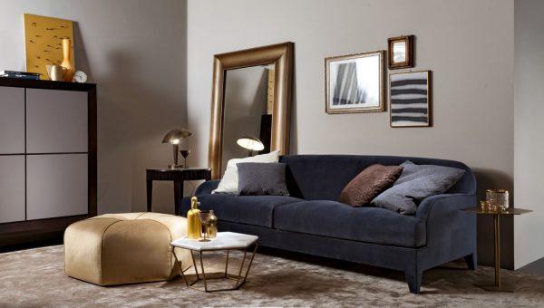 selva living room blue st germain sofa