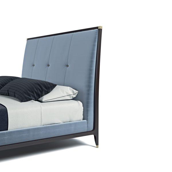 delano bed selva blue headboard