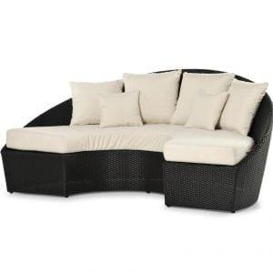 Arena semicircular sofa Varaschin