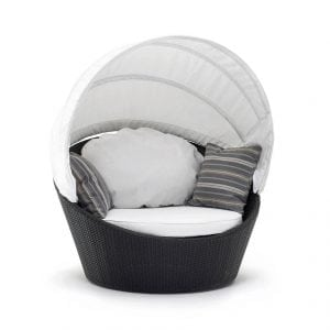 mini arena swivel round sofa varaschin