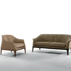 Tiffany Armchair Sofa beige ToninCasa