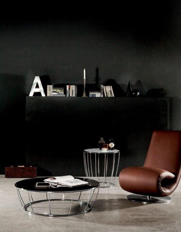 ToninCasa Amburgo Coffeetable black
