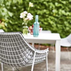 Summerset chairs Varaschin white table