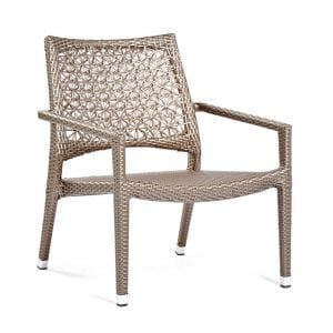 altea lounge chair duo varaschin