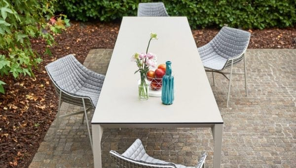 babette table white varaschin