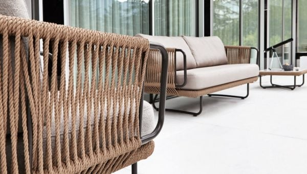 babylon outdoor sofa varaschin