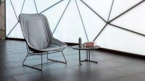 chapeau bergere chair grey varaschin