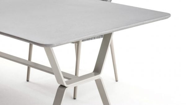deer table white detail varaschin