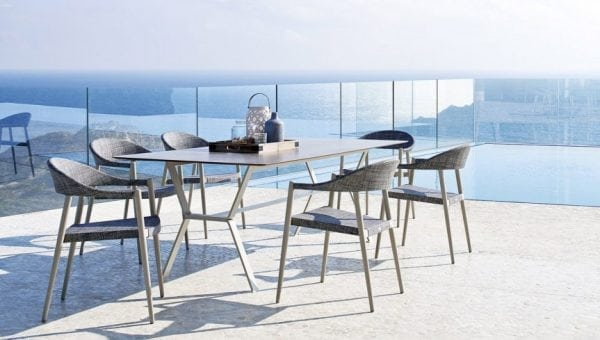 deer outdoor table dining varaschin