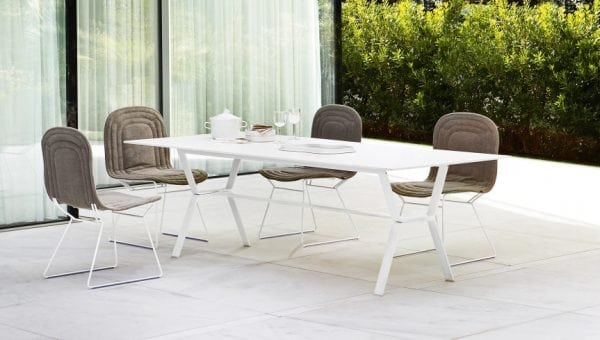 deer table white varaschin