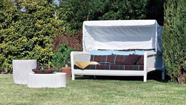 varaschin altea sofabed white