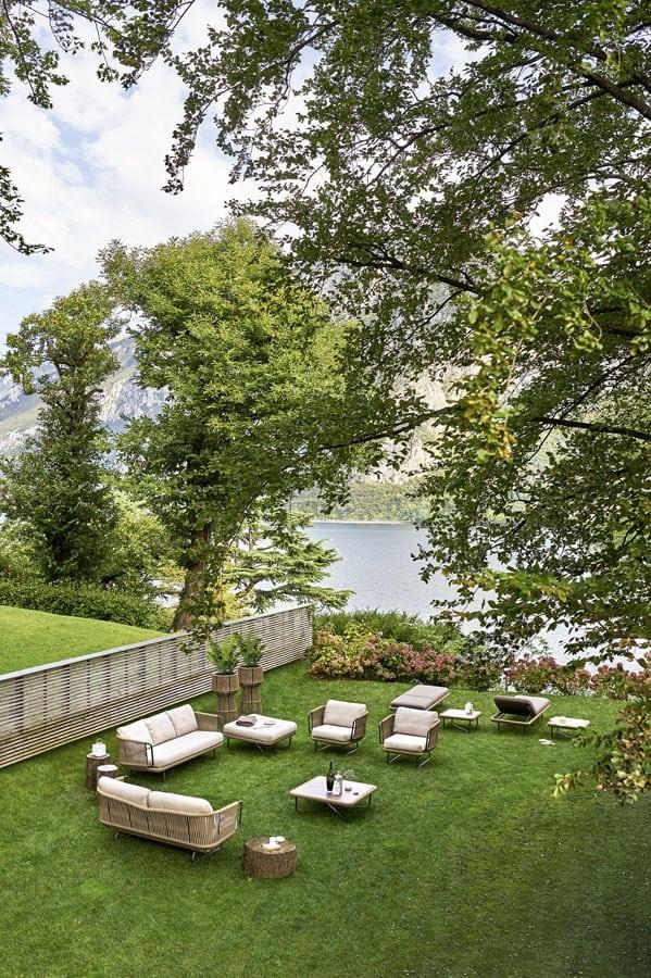 Varaschin babylon sofa outdoor set