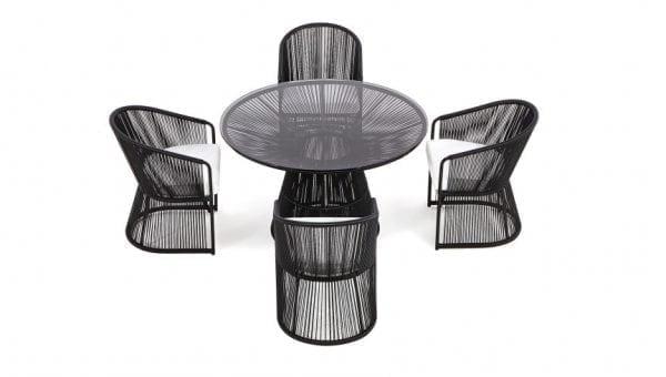 varaschin tibidabo table black