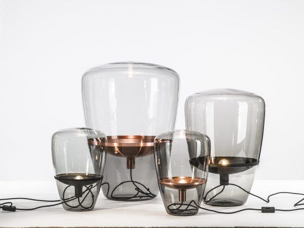BALLOONS Medium Brokis PC857 designer lighting smokegrey copper