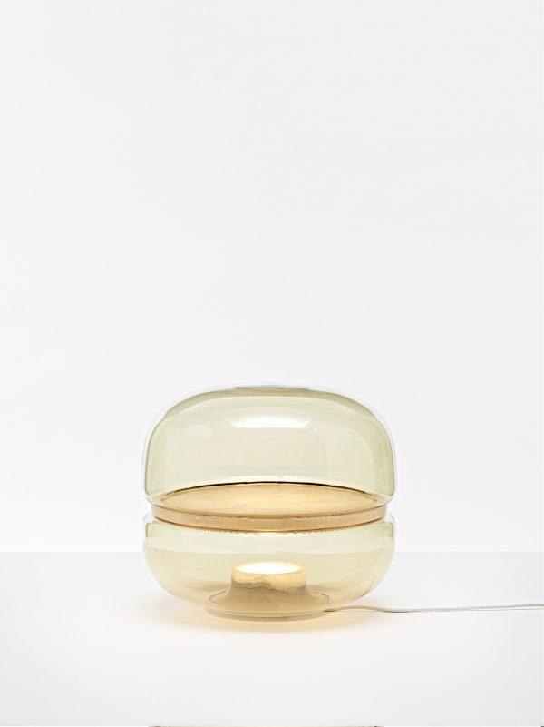 Brokis MACARON Medium PC1039 designer table lamp amber