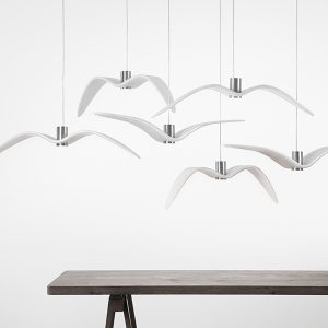 Brokis NIGHT BIRDS White PC962 PC963 PC964 Suspension lamps