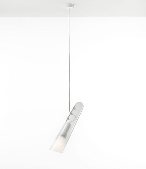 FLUTES 15 Brokis PC977 pendant light opaline white