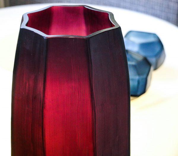amethyst koonam tall vase guaxs
