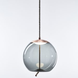 KNOT Sfera Brokis PC1016 pendant lamp smokegrey copper
