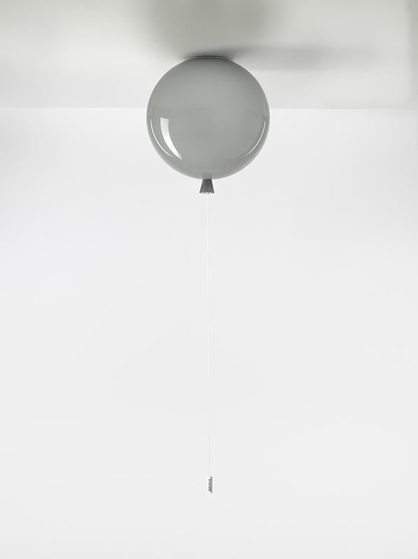 MEMORY Large Brokis PC876 ceiling lamp grey