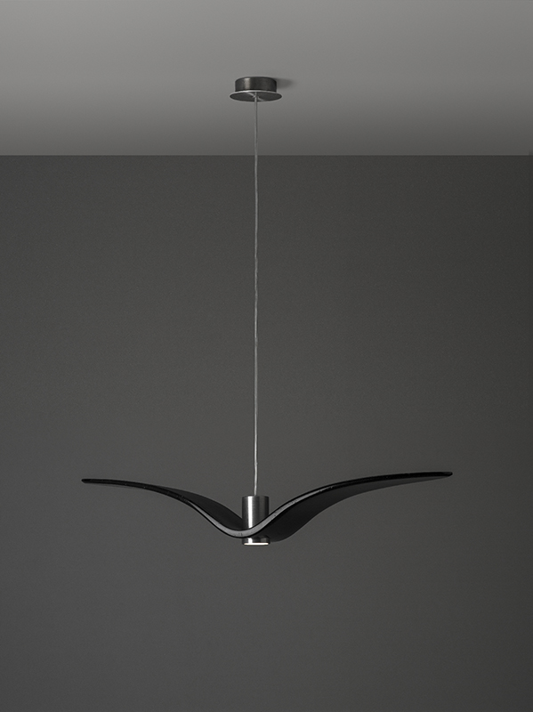 NIGHT BIRDS A Brokis PC962 Pendant lamp black