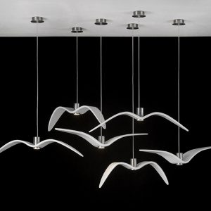 NIGHT BIRDS Brokis PC962 PC963 PC964 Pendant lamps white