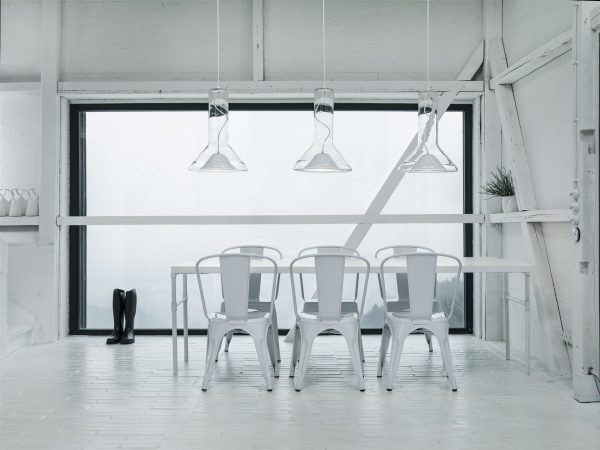 WHISTLE Medium Brokis PC953 pendant lamp transparent white