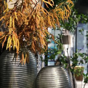 patara smokegrey guaxs vases mouthblown glass