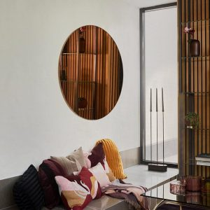 AYTM Circum round mirrors minimalist interior