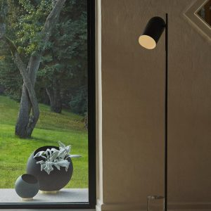 AYTM Floor lamp black matt design
