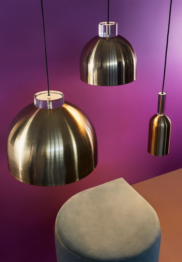 AYTM Gold pendant lamps LUCEO LIGHTING