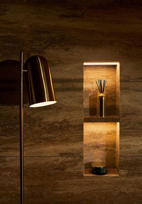 AYTM Lighting LUCEO Floorlamp Gold