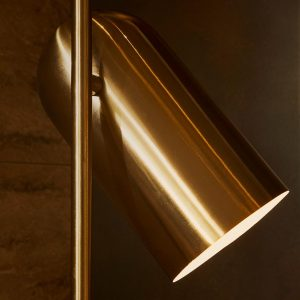 AYTM Lighting LUCEO Floorlamp Gold Design