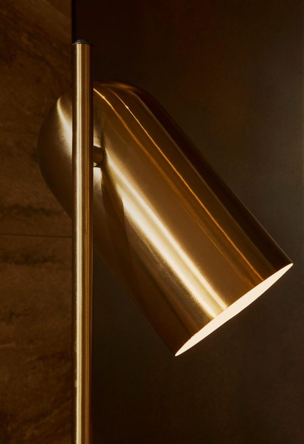 AYTM Lighting LUCEO Floorlamp Gold Design
