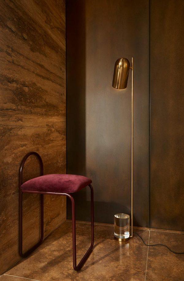 AYTM Luceo floor lamp gold