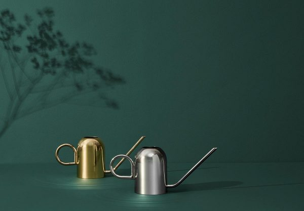 AYTM Vivero watering can gold siver