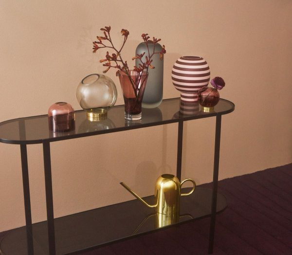 AYTM globe vases vivero gold scandinavian accessories