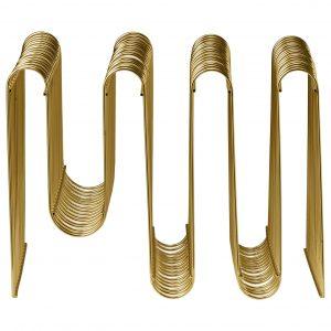 CURVA gold magazine holder AYTM