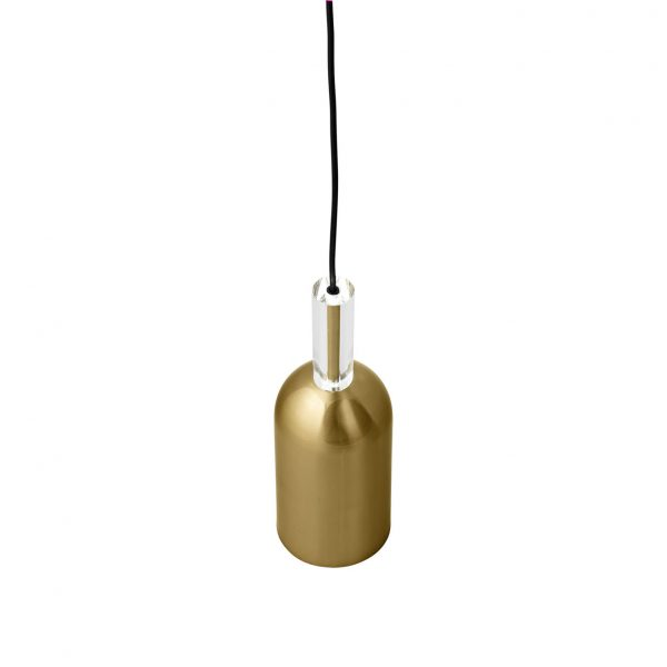 AYTM LUCEO Cylinder Gold Lamp
