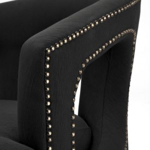 Adam chair black 3 Eichholtz