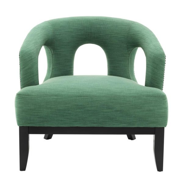 Adam chair green  Eichholtz