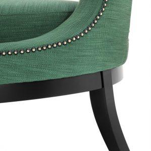Adam chair green 5 Eichholtz
