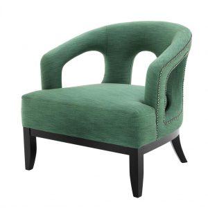 Adam chair green Eichholtz