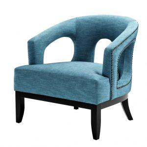 Adam chair turquoise Eichholtz