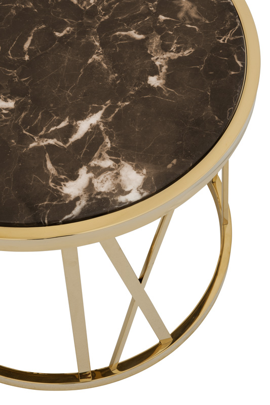 Baccarat side table  Eichholtz