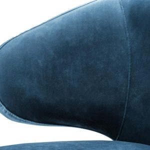 Cardinale dining chair blue 6 Eichholtz