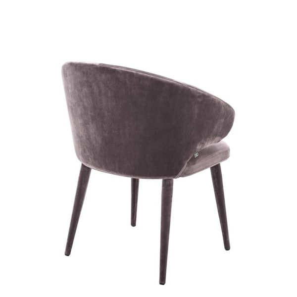 Cardinale dining chair taupe  Eichholtz