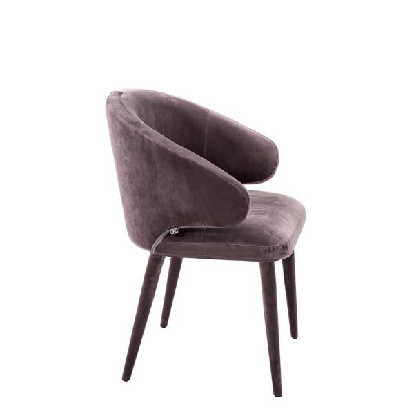 Cardinale dining chair taupe 2 Eichholtz