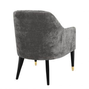 Cyrus chair grey 3 Eichholtz